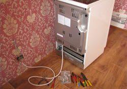 Подключение электроплиты. Новосибирские электрики.