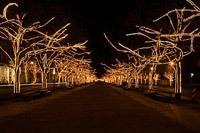 Подключение освещения зданий в Новосибирске