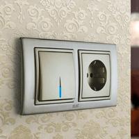 Установка выключателей в Новосибирске. Монтаж, ремонт, замена выключателей, розеток Новосибирск.